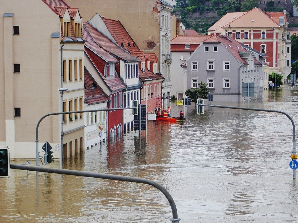 High Water, Elbe, Meissen, Emergency, Not, Savior