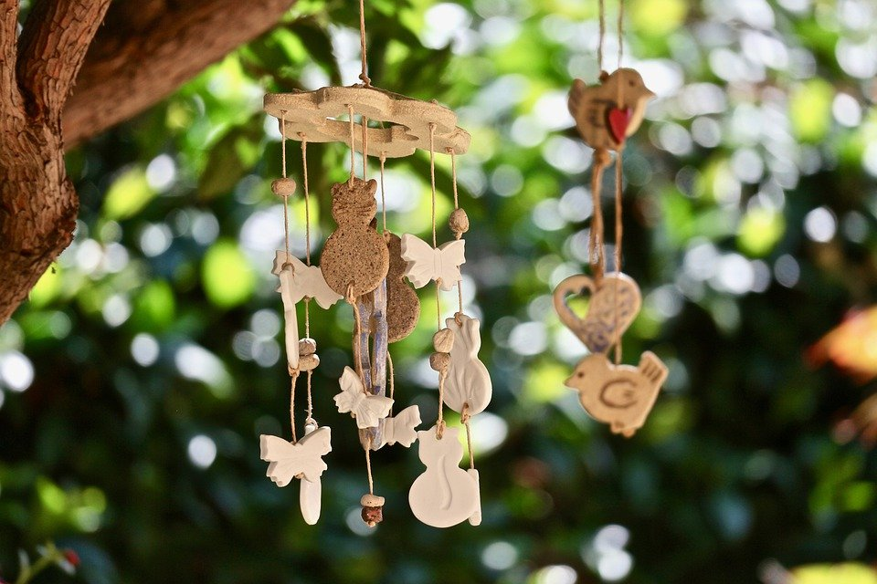 Chimes Of Wind, Decorations, Garden, Ornaments